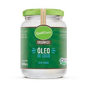 Óleo de Coco Sem Sabor Orgânico 500mL QualiCoco