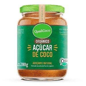 Açúcar de Coco Orgânico QualiCoco 280g