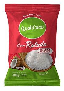 Coco Ralado QualiCoco Sem Açúcar 100g