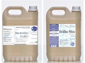 Detergente Removedor Goyazlimp 5 Lt Concentrado E 5lt Do Impermeabilizante  (kit Maior)