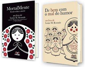 MortalMente + De Bem com o Mal do Humor - Livros de Lenise M. Resende