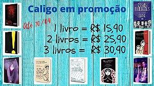 Promoção Caligo Março e Abril/2020 3 livros