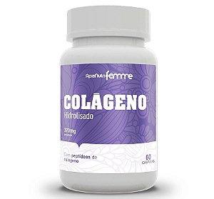 Colágeno Hidrolisado 370mg 60 Capsulas
