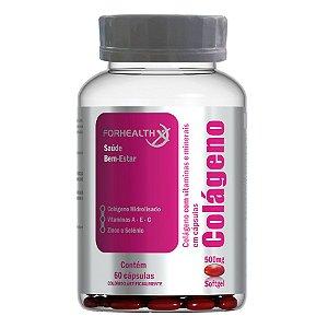 Colágeno  Hidrolizado + Vitaminas e Minerais 60cps