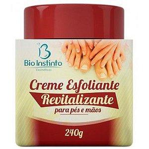 Creme ESFOLIANTE para Pés e Mãos  240g