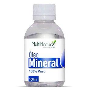 Óleo Mineral 100% puro 100ml