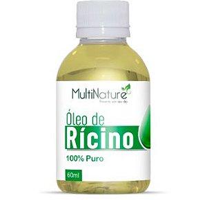 Óleo de Rícino 100% puro 60ml