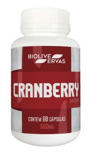 Cranberry - 60 Cáps - 500 mg