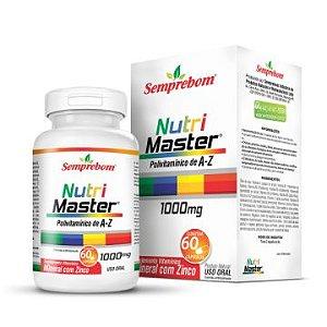 Nutri Master Polivitamínico A-Z 60cáps 1000mg