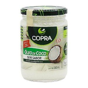 Óleo de Coco Sem Sabor/Cheiro500ml