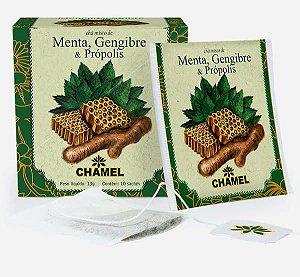 Chá misto Menta Gengibre e Própolis saches