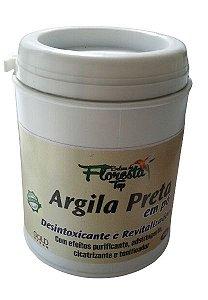 Argila Preta em pó Desintoxicante e Revitalizadora 350g