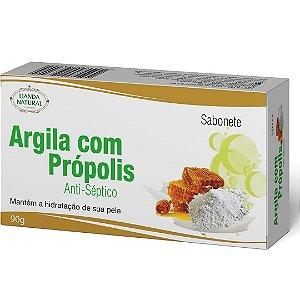 Sabonete Natural Argila com Própolis 90g