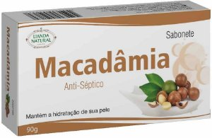 Sabonete Natural Macadâmia 90g