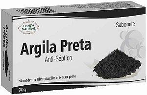 Sabonete Natural Argila Preta 90g