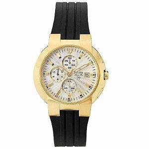 Relógio Bulova Pulseira de Borracha WB30480B