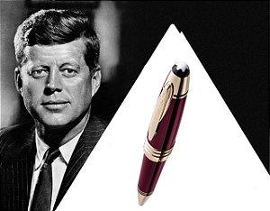 Montblanc John F. Kennedy Special Edition bordô Esferográfica