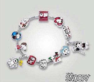 Coleção de Joias em Prata Snoopy