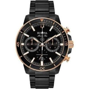 Bulova Chronograph Black