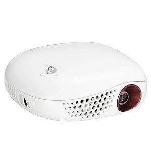 Projetor LG MiniBeam Nano PV150G 100 lumens - Resolução WVGA (854x480) HDMI/USB