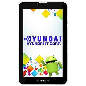 """Tablet Hyundai Maestro Tab HDT-7427G Dual SIM 8GB Tela 7.0"""" 2MP/VGA OS 6.0 - Branco"""