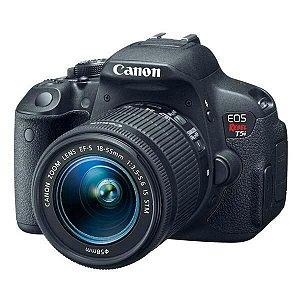 Câmera Canon EOS Rebel T5i/ 18-55mm/ 18.5 Mp