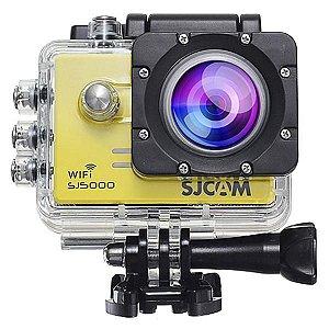 Câmera SJCAM SJ5000 ActionCAM 2.0'' 14MP FHD - Amarelo