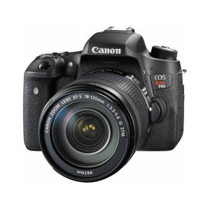 Câmera Canon EOS Rebel T6s 18-135mm/ 24.2 Mp/ Kit de Lentes