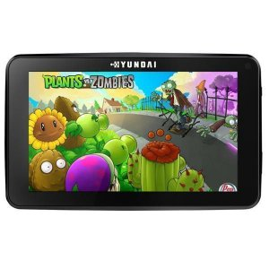 "Tablet Hyundai Maestro Tab HDT- 9433L Wi Fi 8GB Tela de 9.0"" 2MP/0.3MP OS 6.0.1 – Preto"