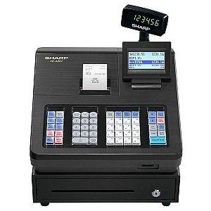 Caixa Registradora Sharp XE-A207 com Impressora e Display para Cliente 110V - Cinza