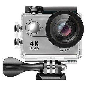 "Câmera Action Sport Authentic H9 4K HD Wifi 2"" - Prata"
