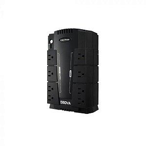 Nobreak UPS Cyberpower CP550SLG 110V - Preto
