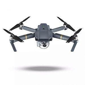 DRONE DJI MAVIC PRO KIT (ANATEL/2 BAT/HUB CARG/BOLSO) CINZA