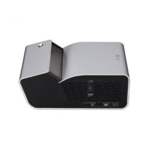 Projetor LG Minibeam UST PH450UG 450 Lumens WXGA HDMI/USB Bivolt - Cinza