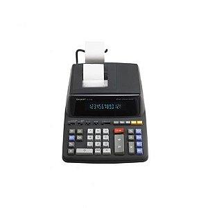 Calculadora com Impressora Sharp EL-2196BL com Suporte para Papel 120V - Preta