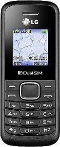 """LG B220 1.45"""" - Dual SIM - 2G - Preto"""