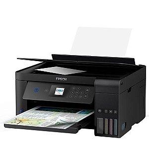 Impressora Multifuncional Epson EcoTank L4160 Inkjet 3 em 1 com Wi-Fi Bivolt - Preta