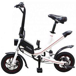 Bicicleta Eletrica e-Bike Mibo V1 Aro 12 Potencia 36V 400W Preto (com Pedal)
