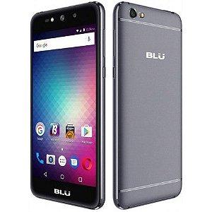"""BLU GRAND MAX G110EQ Dual Sim 3G Tela 5.0"""" CPU 4Core Câm. 8MP+8MP"""