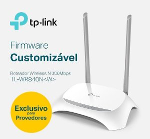 W. TP-LINK ROUTER TL-WR840N(W) (PROVEDOR) 300MBPS