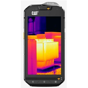 "Smartphone Caterpillar S60 32GB Tela 4.7"" 13MP/5MP OS 6.0.1 - Preto"