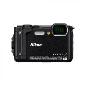 "Câmera Compacta Nikon Coolpix W300 16.05MP de 3.0"" com Wi-Fi/Bluetooth"