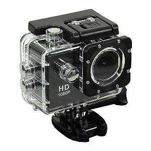 """Câmera Esportiva Quanta QTSC501i Full HD de 12MP Tela 2"""" com Wi-fi"""