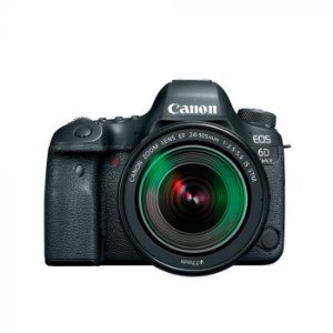 Câmera Canon EOS 6D MARK II 24-105MM F/3.5-5.6 IS STM (GB) - Preto