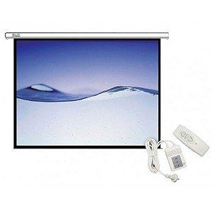 """Tela de Projeção Klip Xtreme KPS-502 Elétrica de 100"""" - 4:3 com Controle (110V)"""