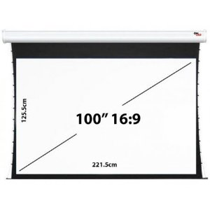 """Tela de Projeção Onled Elétrica Tensionada de 100"""" - 16:9 (220V-50Hz)"""