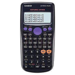 Calculadora Científica Casio FX-95ES Plus com 274 Funções - Cinza/Preta