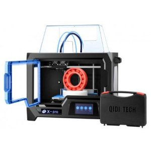 Impressora 3D Qidi Tech X-PRO 220v - Preto/Azul