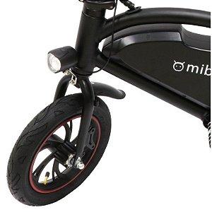 """Bicicleta Elétrica Mibo com Rodas de 12"""" 36V 250W - Branco / preto"""