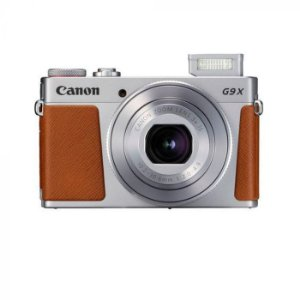 "Câmera Canon PowerShot G9 X Mark II 20.1MP de 3.0"" com Wi-Fi/Bluetooth/NFC - Prata"